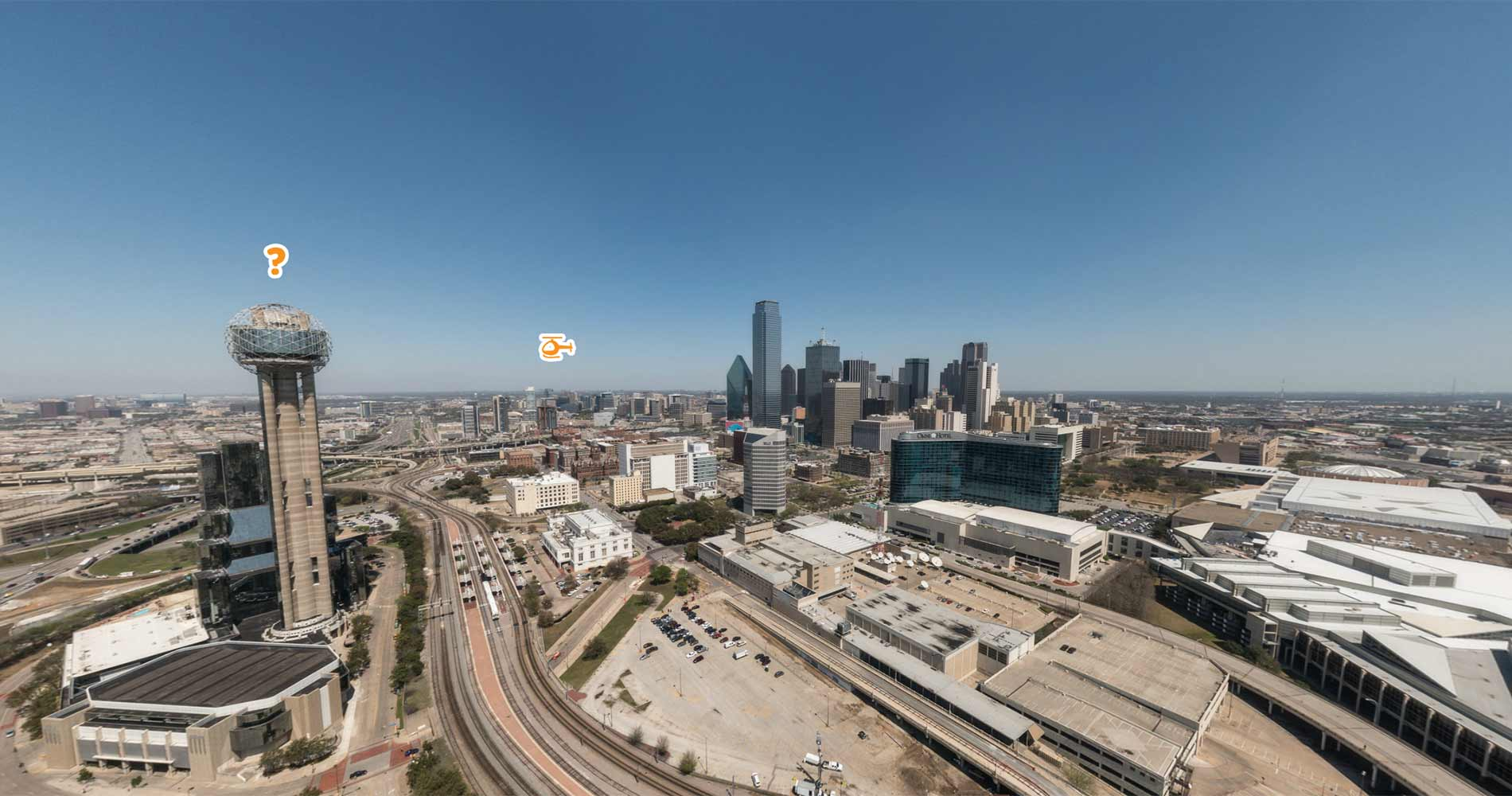 The 4th destination: Dallas, Texas