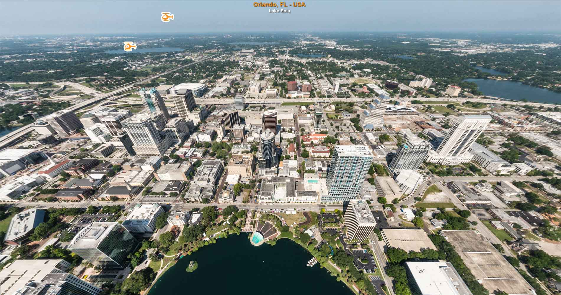 The Gran Aerial Virtual Tour of Orlando is now online